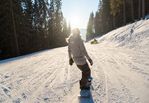 Skirejseforsikring - smukt vejr på skipisten