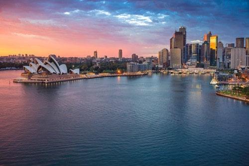 Rejs trygt til Australien med en rejseforsikring verden, fra Dansk Rejseforsikring.